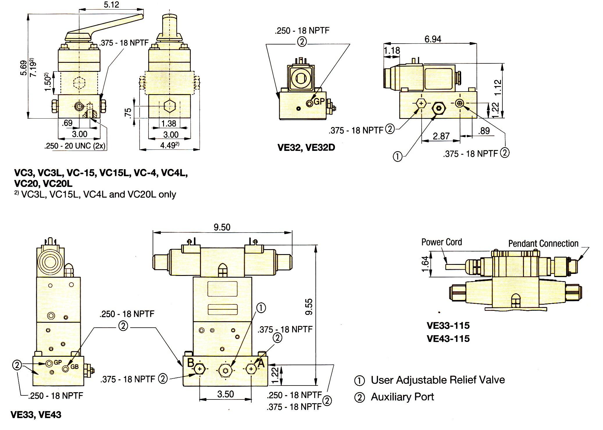 Diagram  4 Way Hydraulic Valve Diagram