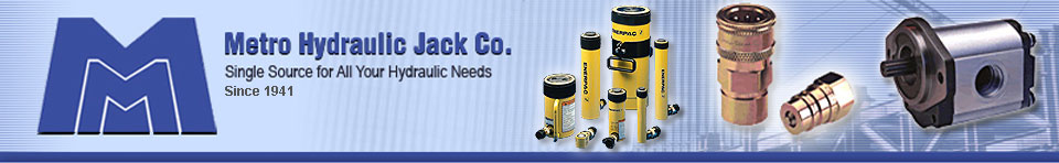 Metro Hydraulic Jack Co. | Single Source for All Your Hydraulic Needs