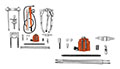 Item Image - Hydraulic Puller Set
