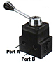 Product Image - 4 Way/3 Position (Closed Center) Manual Valve with Posy Check
