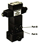 Product Image - 4-way/3-position (open center) solenoid valve