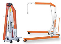 Product Image - Mobile Floor Cranes folded
