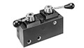 "Product Image - ""Twin"" 4-way/3-position (tandem center) Manual Valve"
